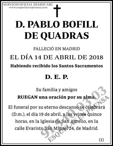 Pablo Bofill de Quadras